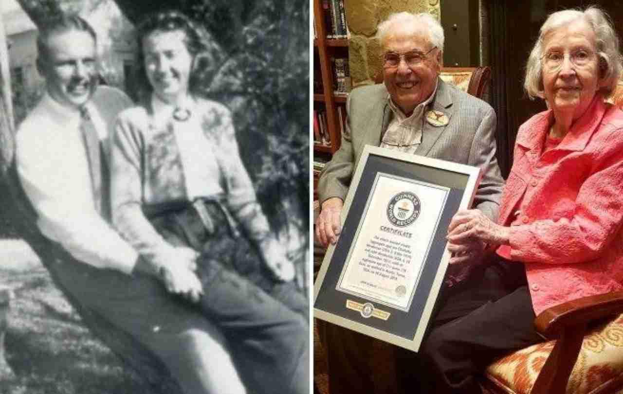 Coppia più longeva al mondo: insieme dal 1939