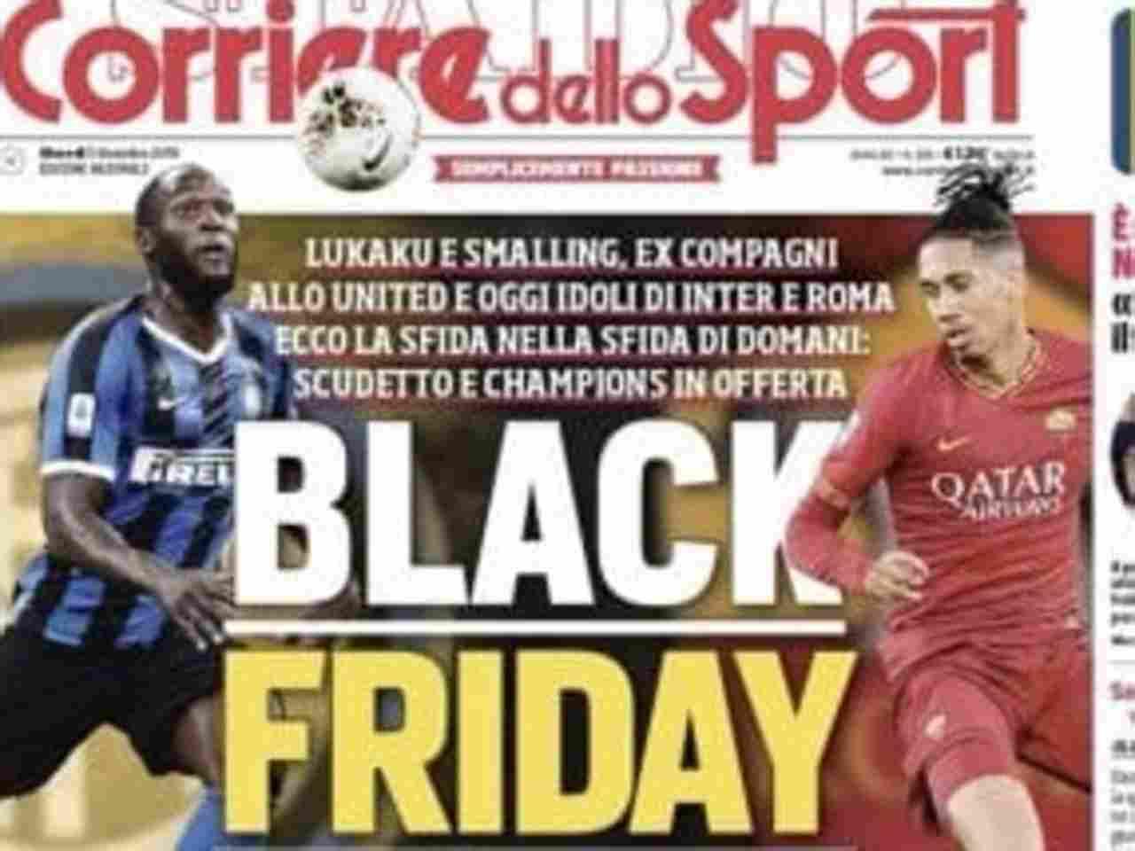 Inter Roma Black Friday