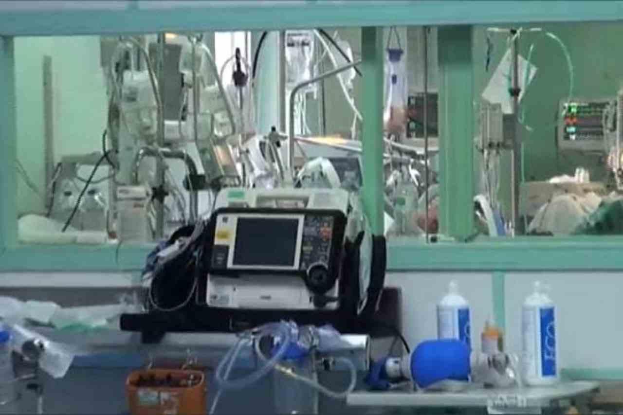 bimba investita da un'ambulanza