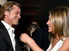 Brad Pitt e Jennifer Aniston si baciano, i fan tornano a spe