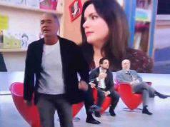 Giletti | lite in diretta tv | abbandona la trasmissione fur