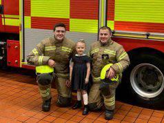 Bimba di 4 anni salva l'intera famiglia da un incendio scopp