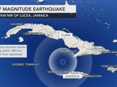Terremoto di magnitudo 7,7 tra Cuba e Giamaica: allerta tsun
