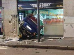 Incidente Milano | tenta sorpasso e si schianta in negozio |