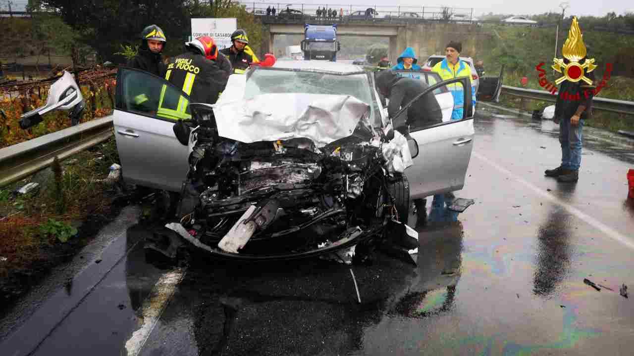 incidente stradale Crotone