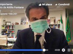 Coronavirus, il Presidente della Lombardia Fontana in auto-isolamento