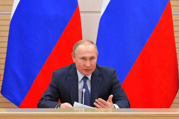 Putin, la presa di posizione sulla questione