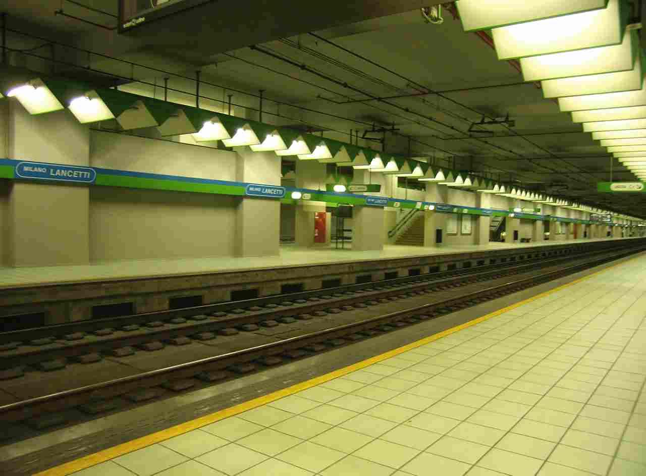 incidente in metro
