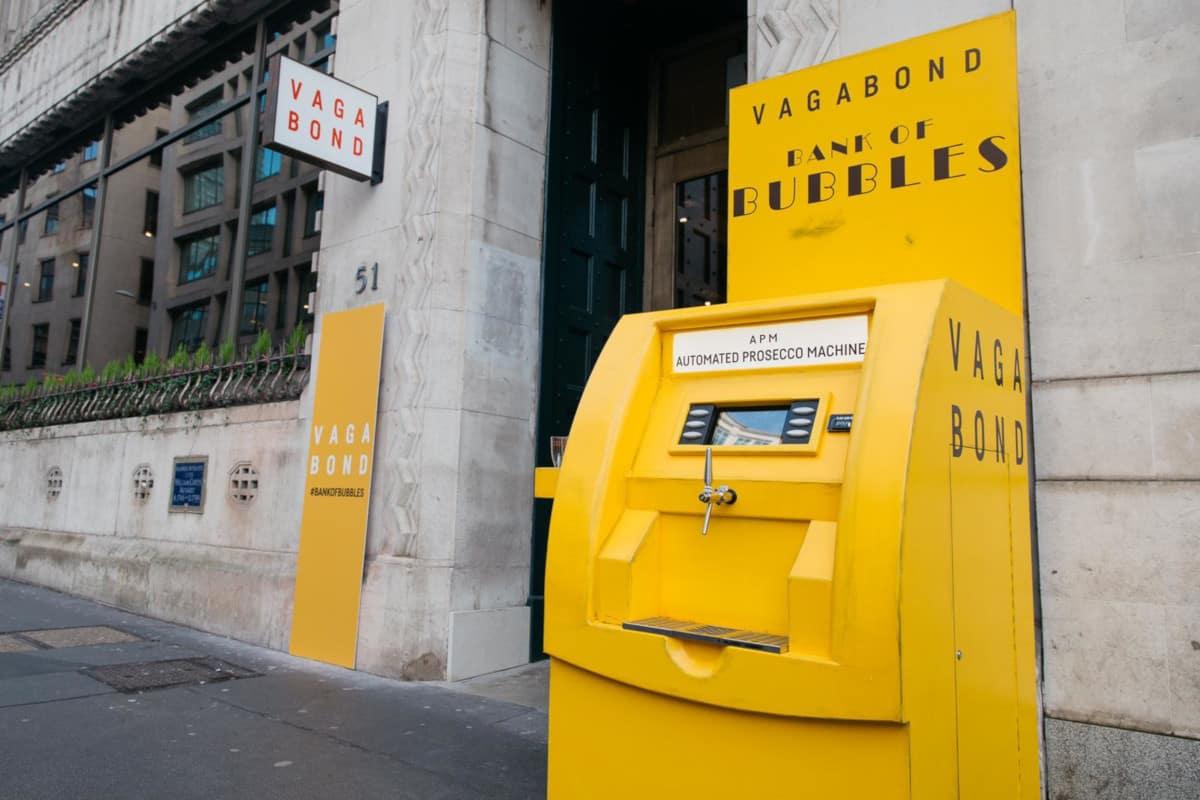 inglesi distributore automatico prosecco
