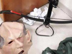 stalking maschera Bertinotti