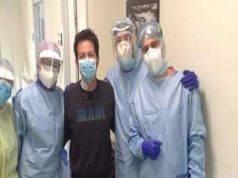 """Aurelio, guarito dal Coronavirus: """"Grazie a chi mi ha salvat"""