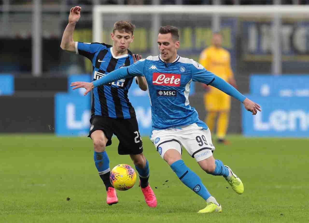 Napoli Inter rinviata