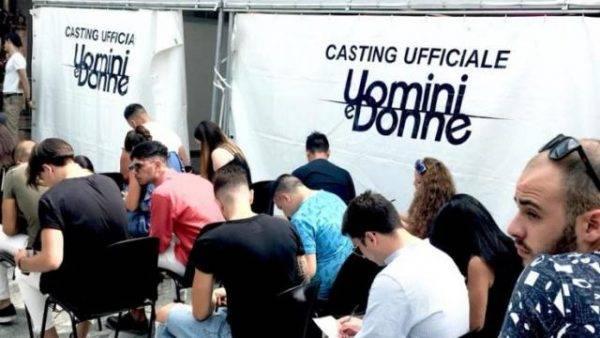casting uomini e donne