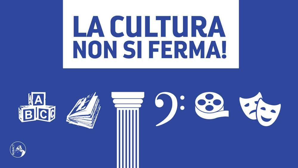 cultura non si ferma