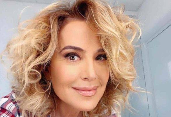 Barbara d'Urso Fabio Testi