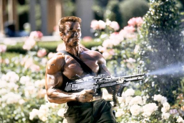 Commando Schwarzenegger