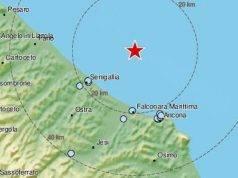Terremoto, nuova forte scossa al largo della costa di Ancona