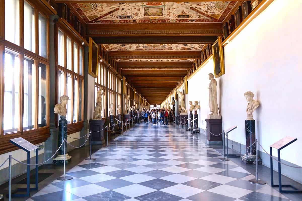 visitare uffizi online tour virtuale