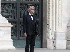 """Andrea Bocelli: """"Ho avuto il Coronavirus, ora dono il plasma"""