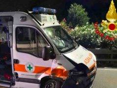 Incidente ambulanza | schianto durante la corsa in ospedale