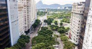 Coronavirus Brasile: il centro di rio è deserto