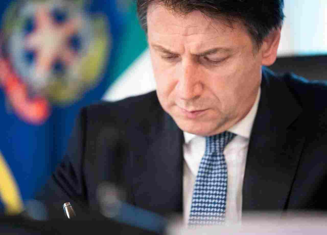 Giuseppe Conte messaggio