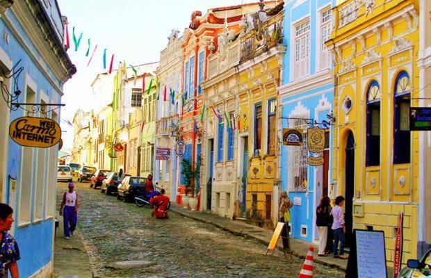 Santo Antonio quartiere di Salvador
