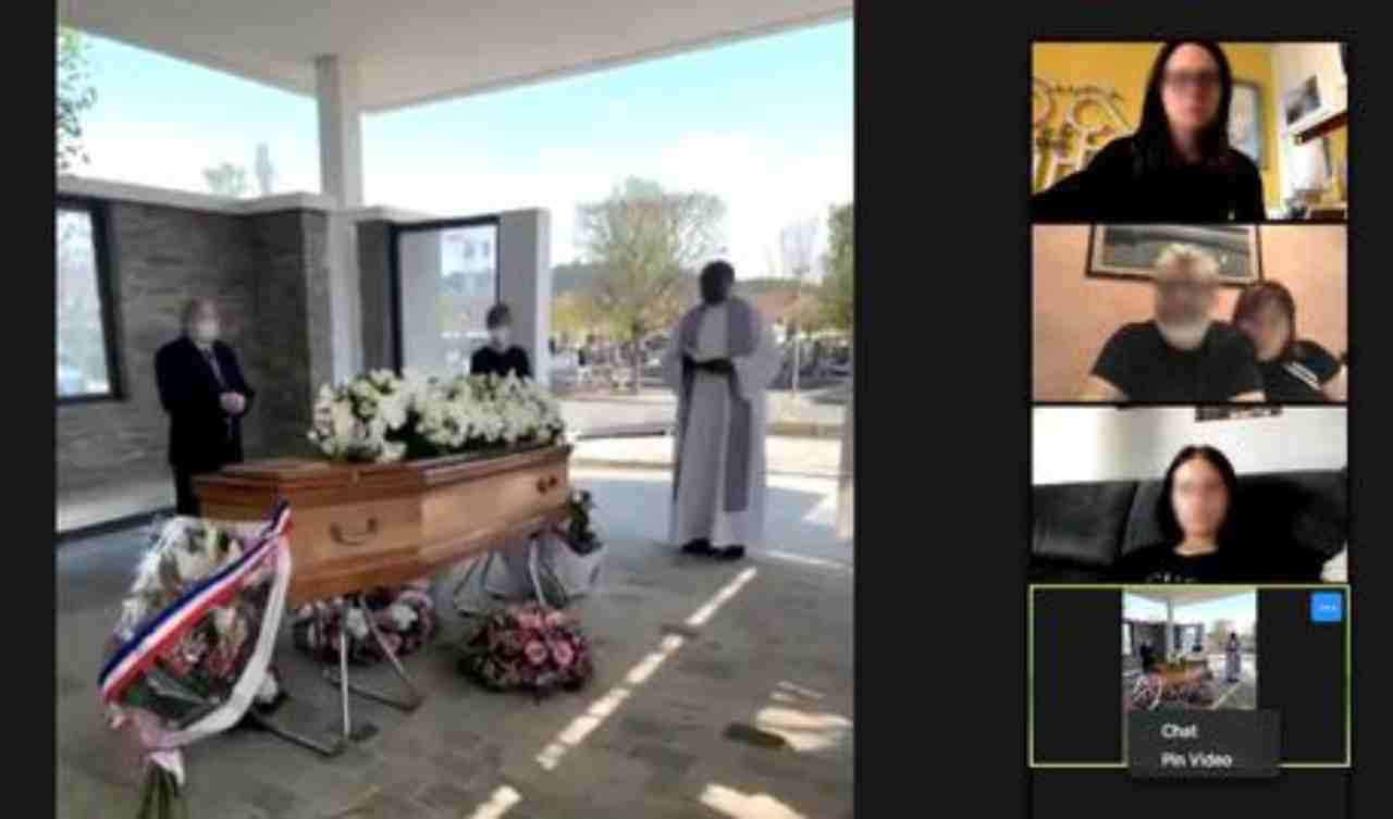 funerale streaming