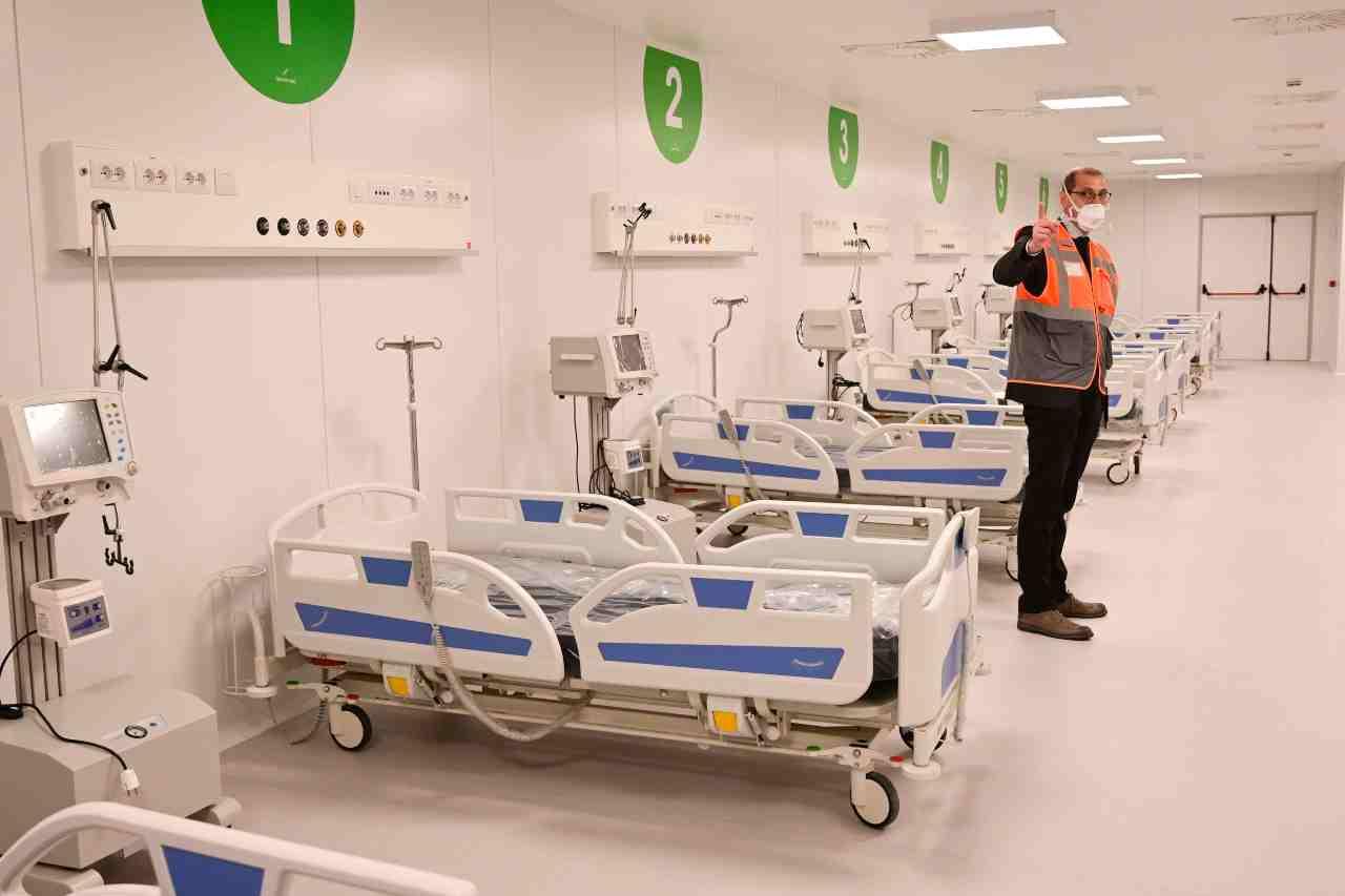 Milano Fiera ospedale