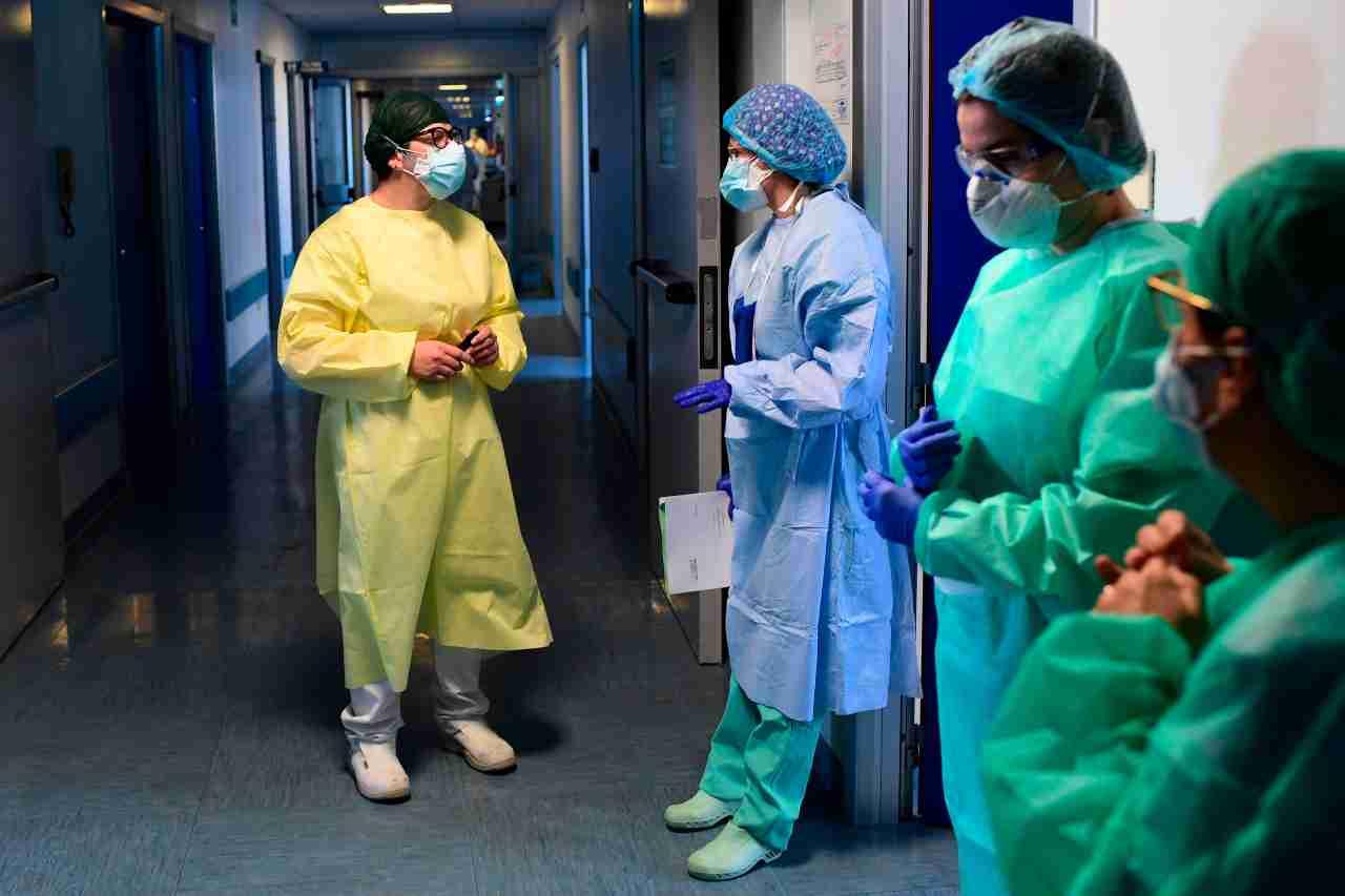 Coronavirus reparto infettato