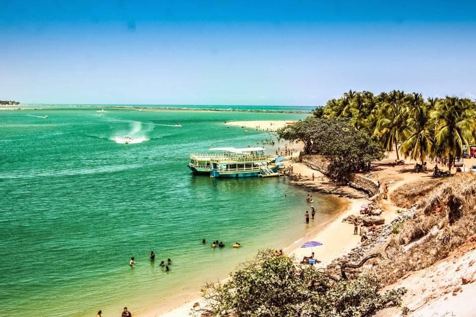 le migliori spiagge del Brasile: Praia do Gunga
