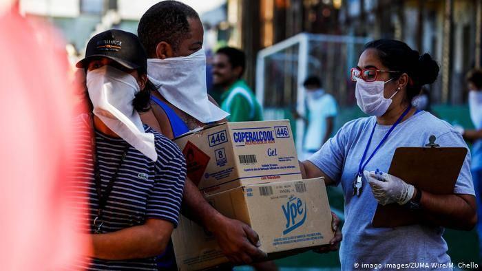 aiuti alle favelas brasiliane