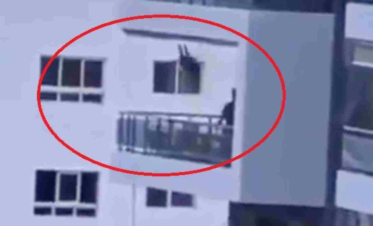 altalena balcone