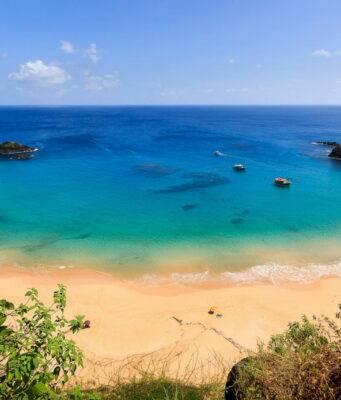 le spiagge più belle del Brasile: baia do sancho