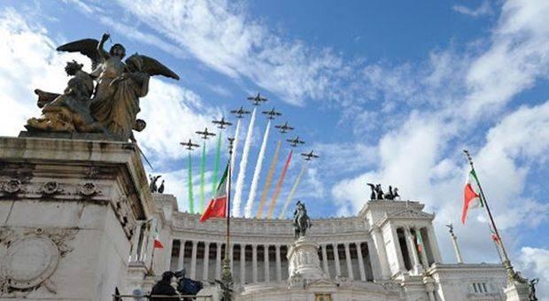 frecce tricolori: il giro d'Italia 2020