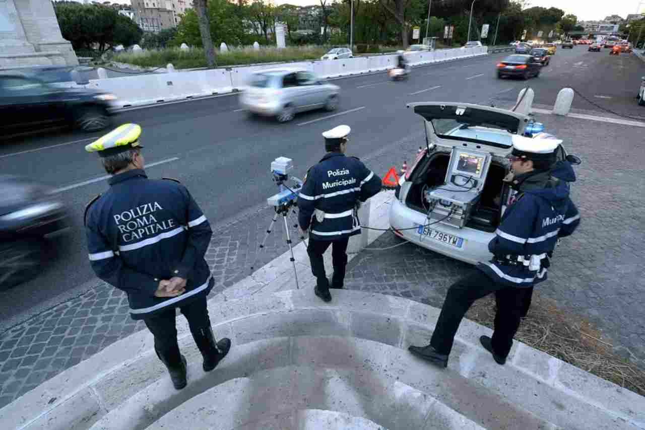 polizia municipale violazione quarantena