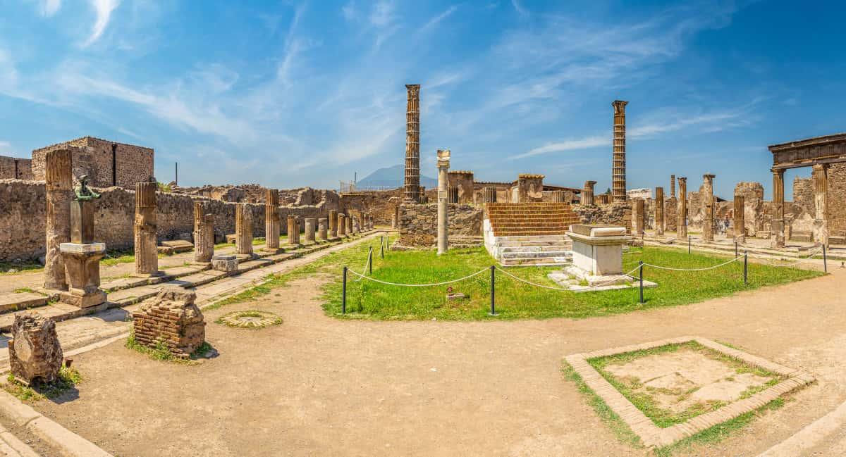 pompei parco archeologico riapre