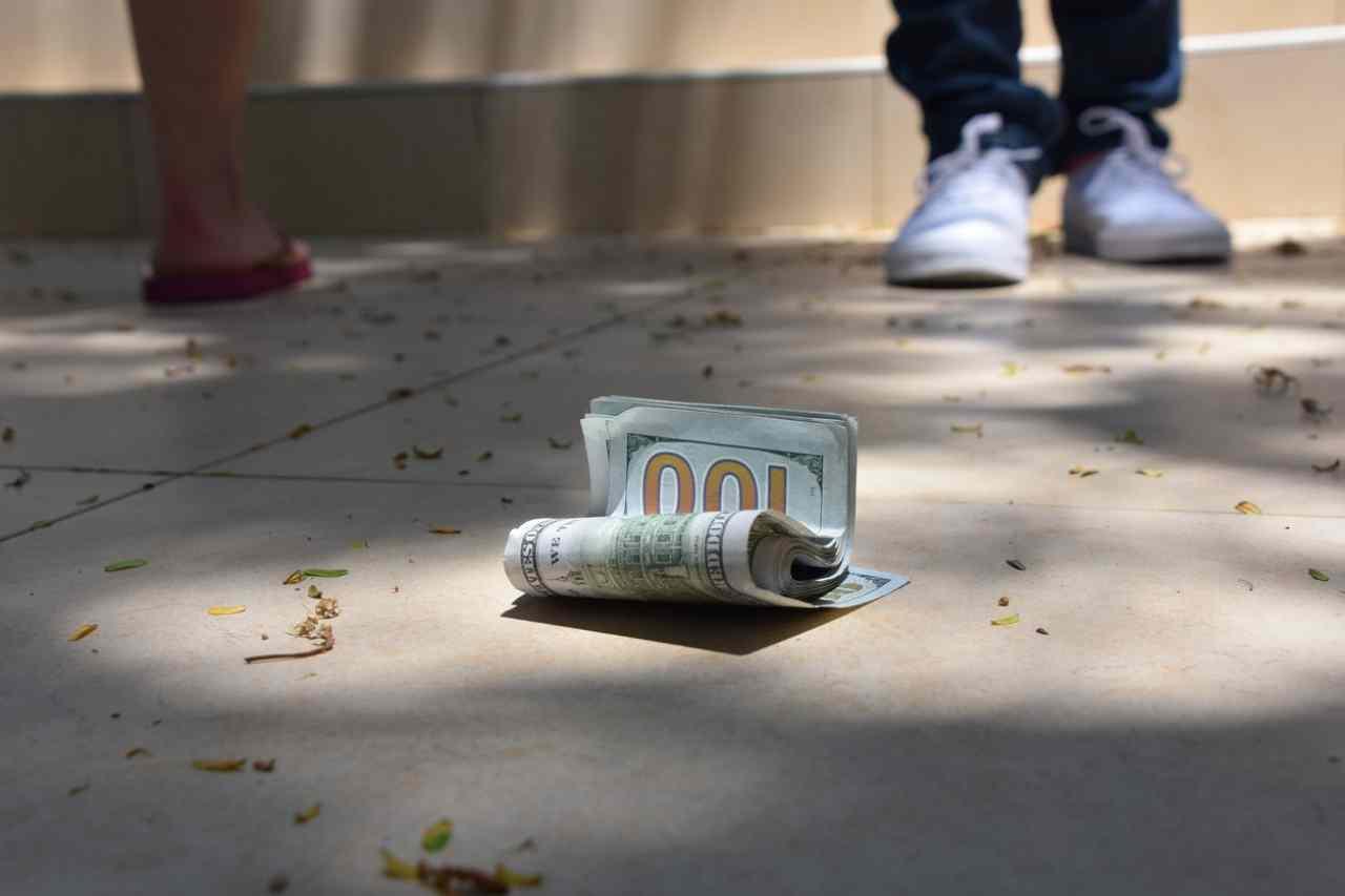 Ritrovamento di soldi