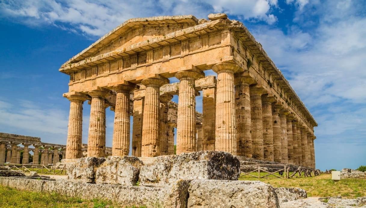 Il tempio di Nettuno: parco archeologico di Paestum