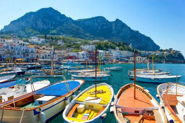 Marina Grande, tra le migliori spiagge di Capri