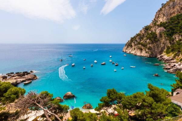 Marina Piccola la migliore spiaggia di Capri