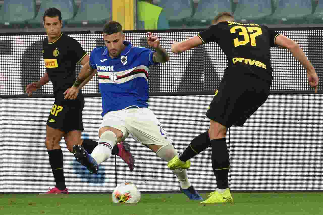 Inter Sampdoria dove vederla