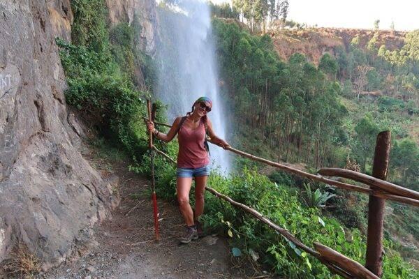 Diana Facile in Uganda