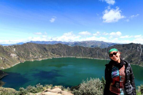 La globe Trotter in Ecuador
