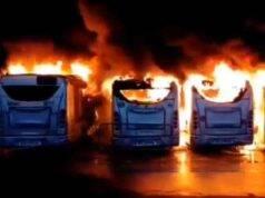 Atac Roma incendio