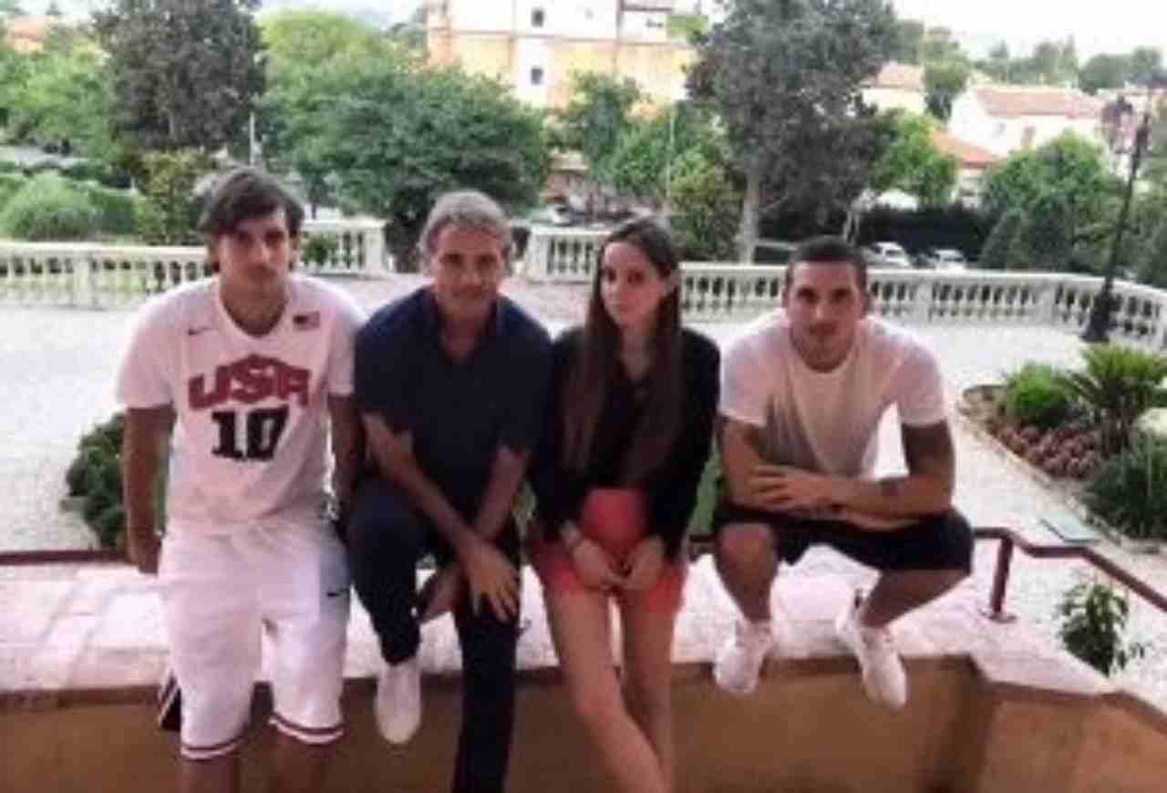 Roberto Mancini figlia