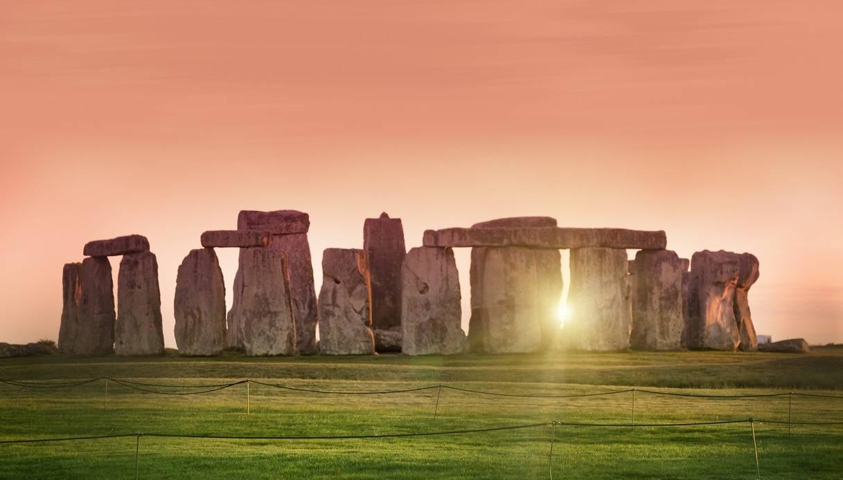 solstizio d'estate a Stonehenge 2020