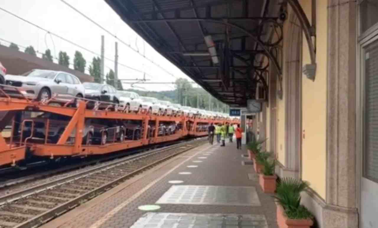 uomo ucciso da treno
