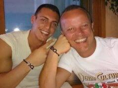 Gigi D'Alessio di nuovo nonno: il figlio Claudio aspetta un