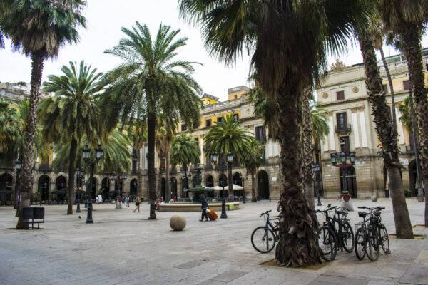 plaza real Barcellona